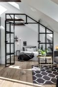 Limitless interior schemes with clever glass partition enlarging wide interior vibes Image 31