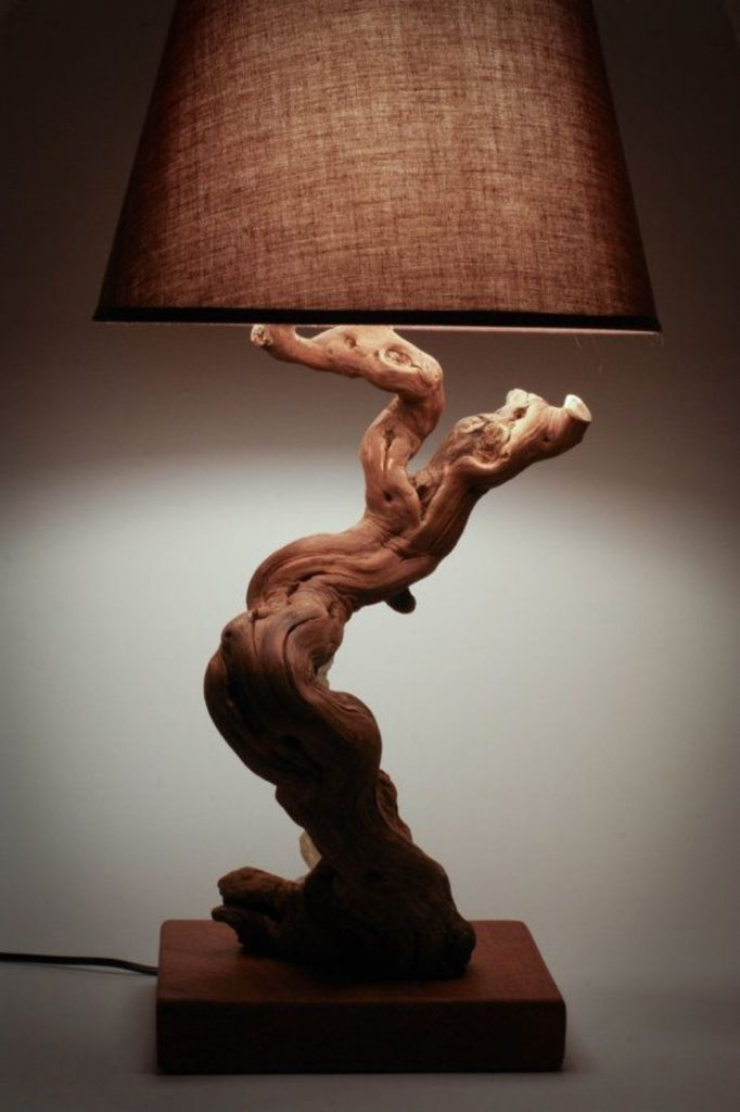 Stunning natural material for Driftwood lamp decoration creating an incredible ambiance Image 20