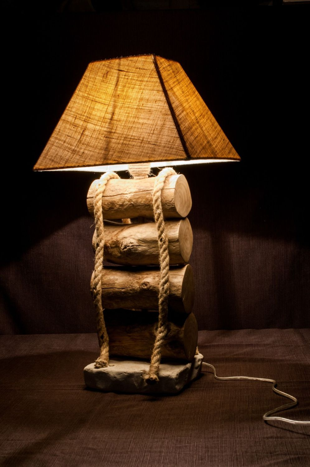 Stunning natural material for Driftwood lamp decoration creating an incredible ambiance Image 22