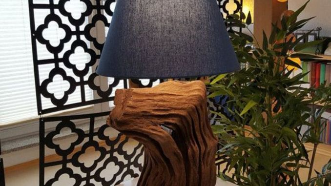 Stunning natural material for Driftwood lamp decoration creating an incredible ambiance Image 25