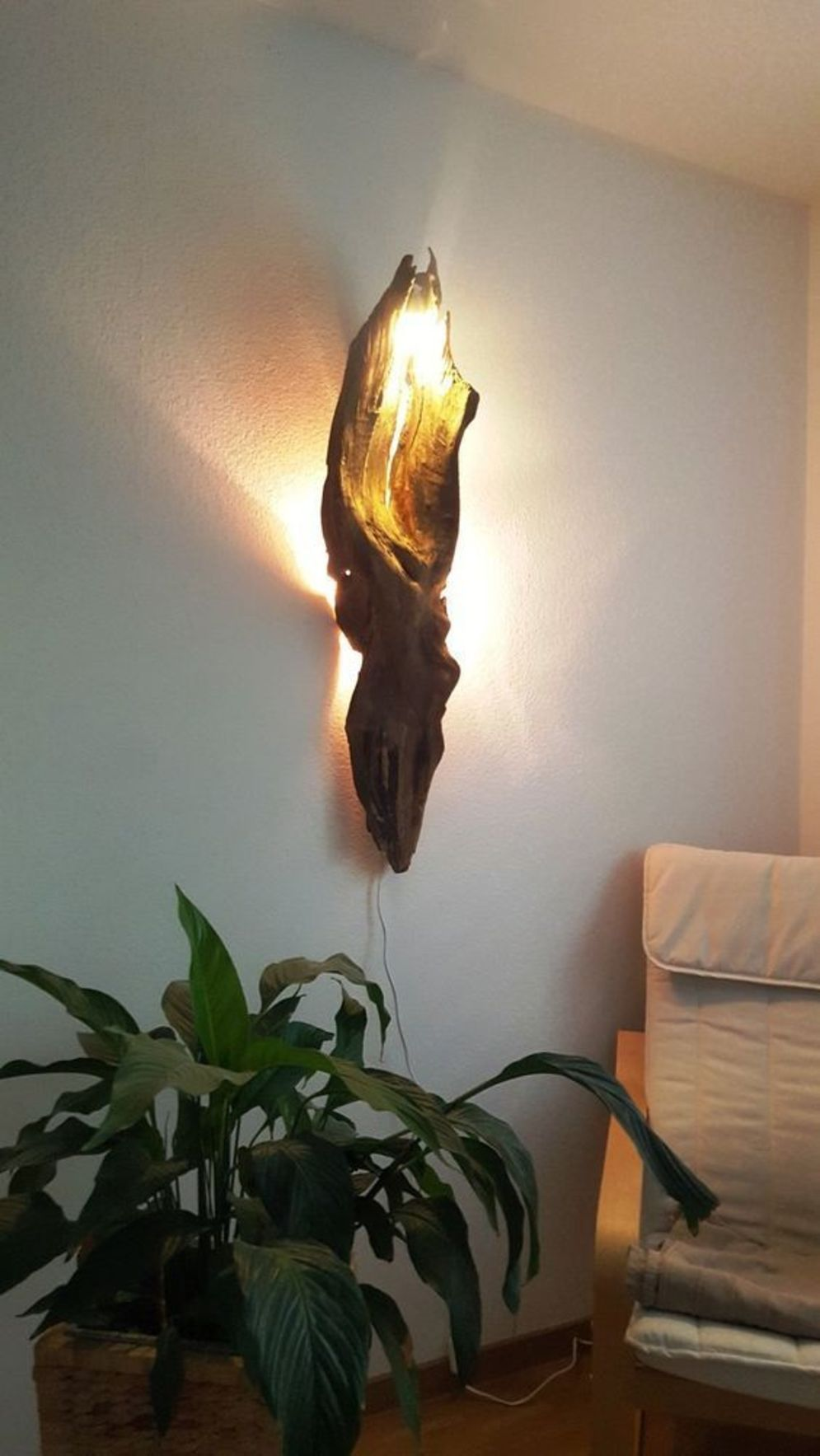Stunning natural material for Driftwood lamp decoration creating an incredible ambiance Image 27