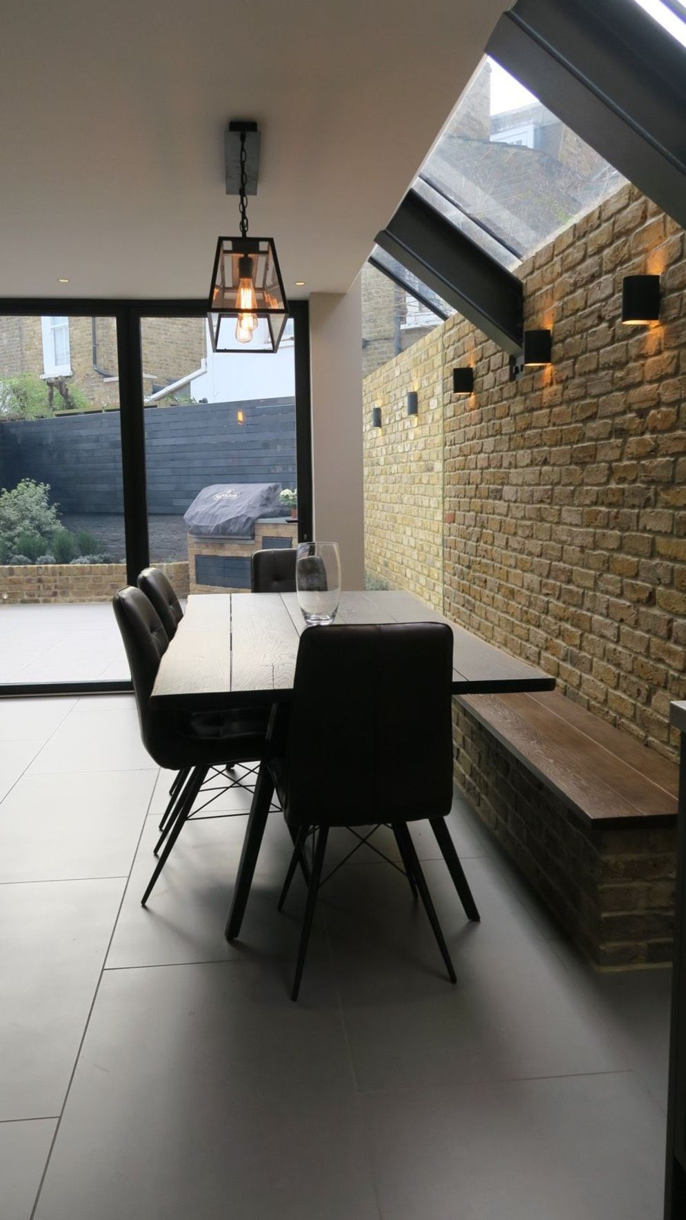 Wonderful interior statement brick wall improving interior display with modern rustic combination Image 27