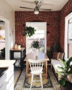 Wonderful interior statement brick wall improving interior display with modern rustic combination Image 32