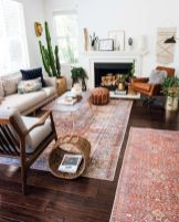 Artful interior style showcasing eclectic Bohemian display with ethnic rugs as decoration Image 21