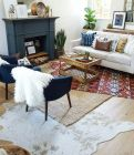Artful interior style showcasing eclectic Bohemian display with ethnic rugs as decoration Image 6
