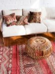 Beautiful Bohemian living style displaying artsy rug designs with exotic pattern Image 37