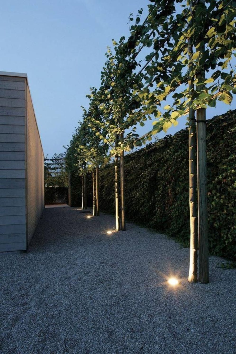 Beautiful garden lighting ideas with ground level ambient light giving luxurious resorts look Image 14