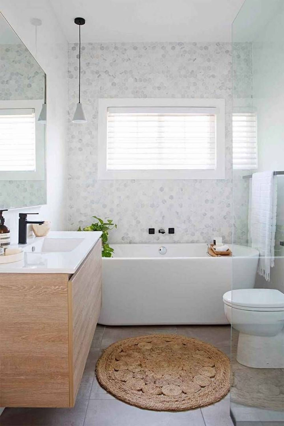 Most savvy bathroom designs with elegant wood finish to give more natural feel Image 13