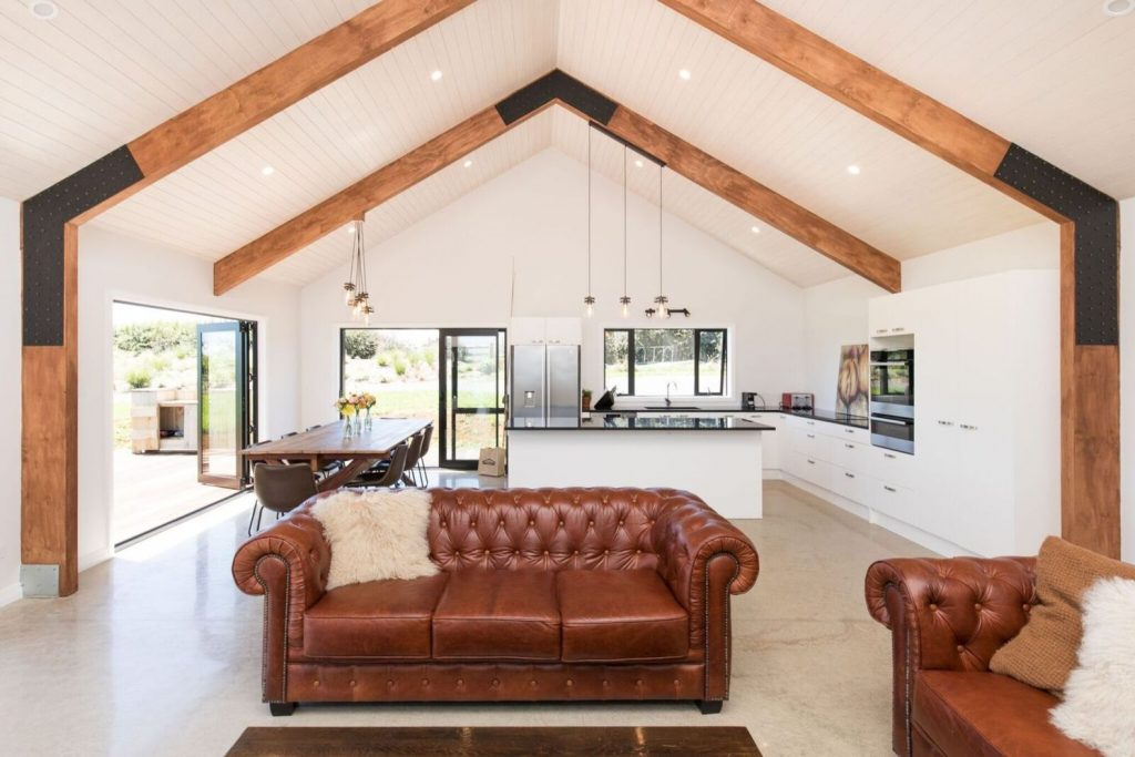 Best vaulted ceiling designs the will give your home airier vibes and incredible beauty Image 7