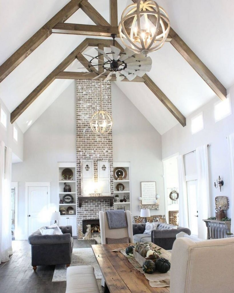 Best vaulted ceiling designs the will give your home airier vibes and incredible beauty Image 8
