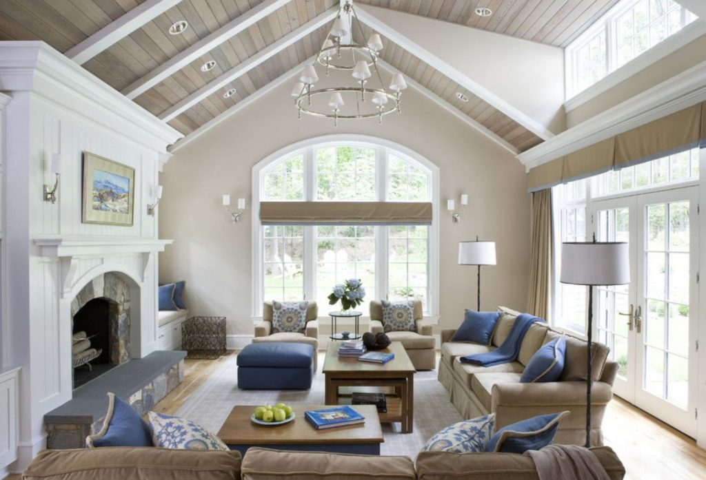 Spacious home images with vaulted ceiling showcasing grand and wonderful home design Image 36