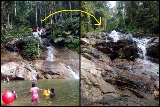 air terjun templer