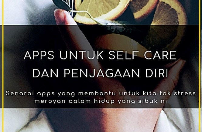 apps self care. minda, ketenangan