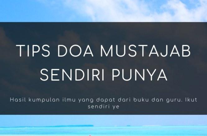 tips doa mustajab