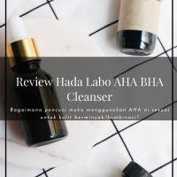 Review Hada Labo AHA BHA Cleanser