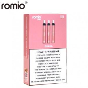 روميو سيجارة الاستخدام الواحد 3 حبات نكهة الجوافة