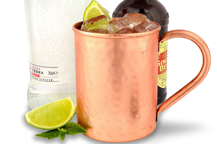 Moscow Mule Copper Mugs by The Kicking Mule