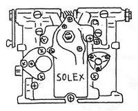 MIKUNI SOLEX PHH 型別式一覧表
