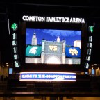 Notre Dame Hockey: Malmquist and Graham Show