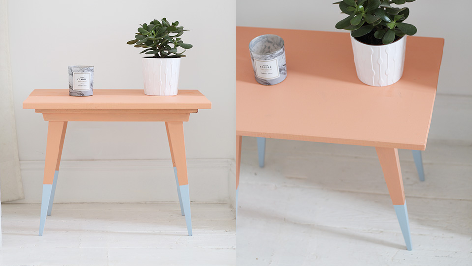une table basse vintage color e diy shake my blog
