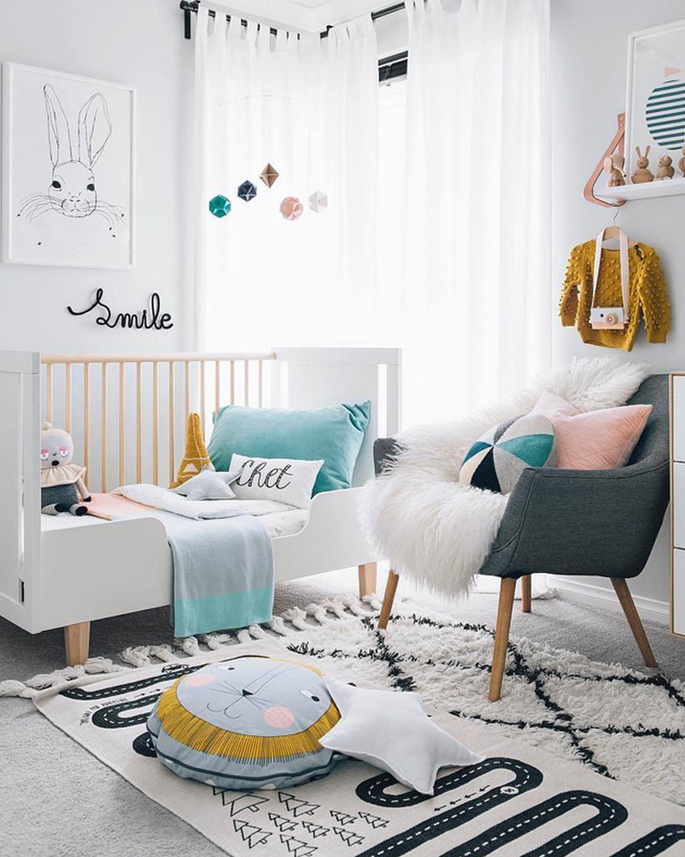 idee deco chambre enfant coloree