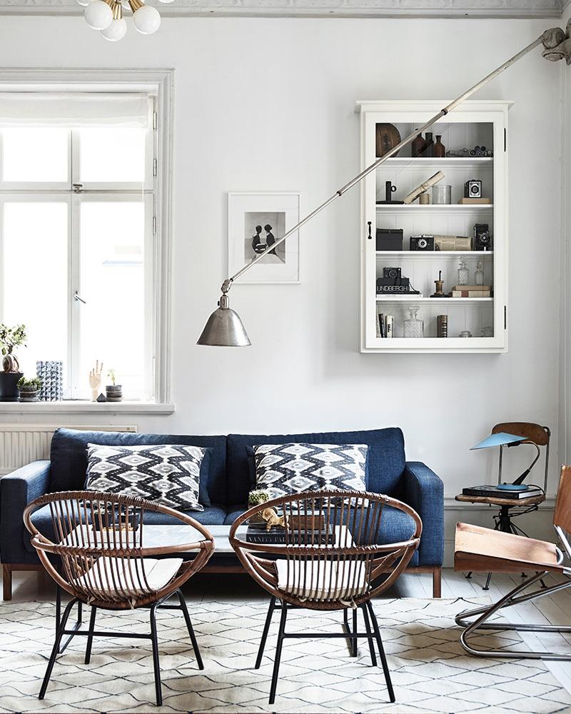 une deco vintage dans votre salon