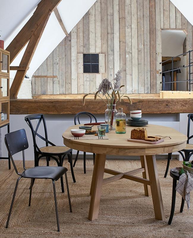 la table ronde extensible zebarn