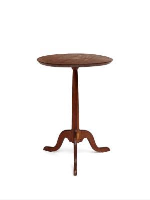 Candlestand, Church Family, Mount Lebanon, NY, ca. 1830, Shaker Museum | Mount Lebanon: 1957.8247.1
