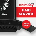 Chimney Paid Service (Hard Clean)