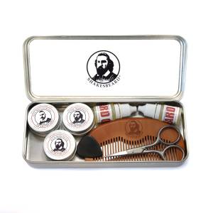 Compact Beard & Moustache Grooming Kit