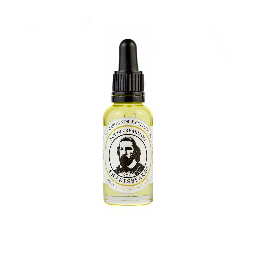 Sweet Orange & Neroli Beard Oil 30ml A Midsummer Nights Dream