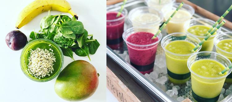Groene smoothie recepten - Shakes on Wheels - Smoothiebar huren