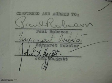 Othello Contract Signatures
