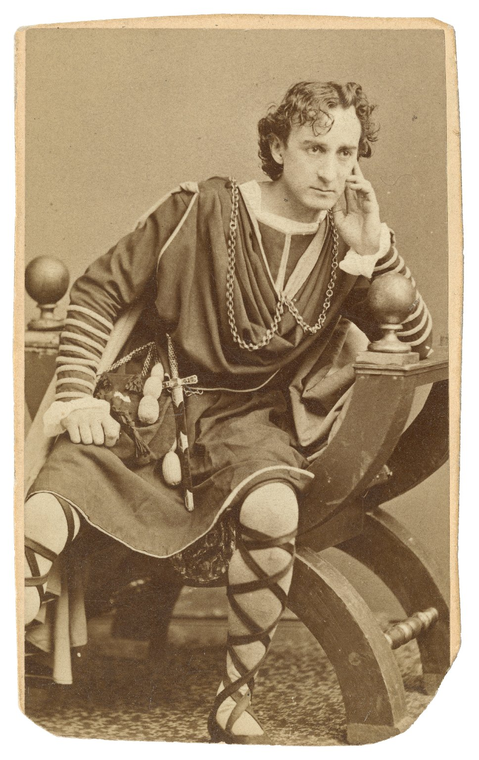 Edwin Booth as Hamlet