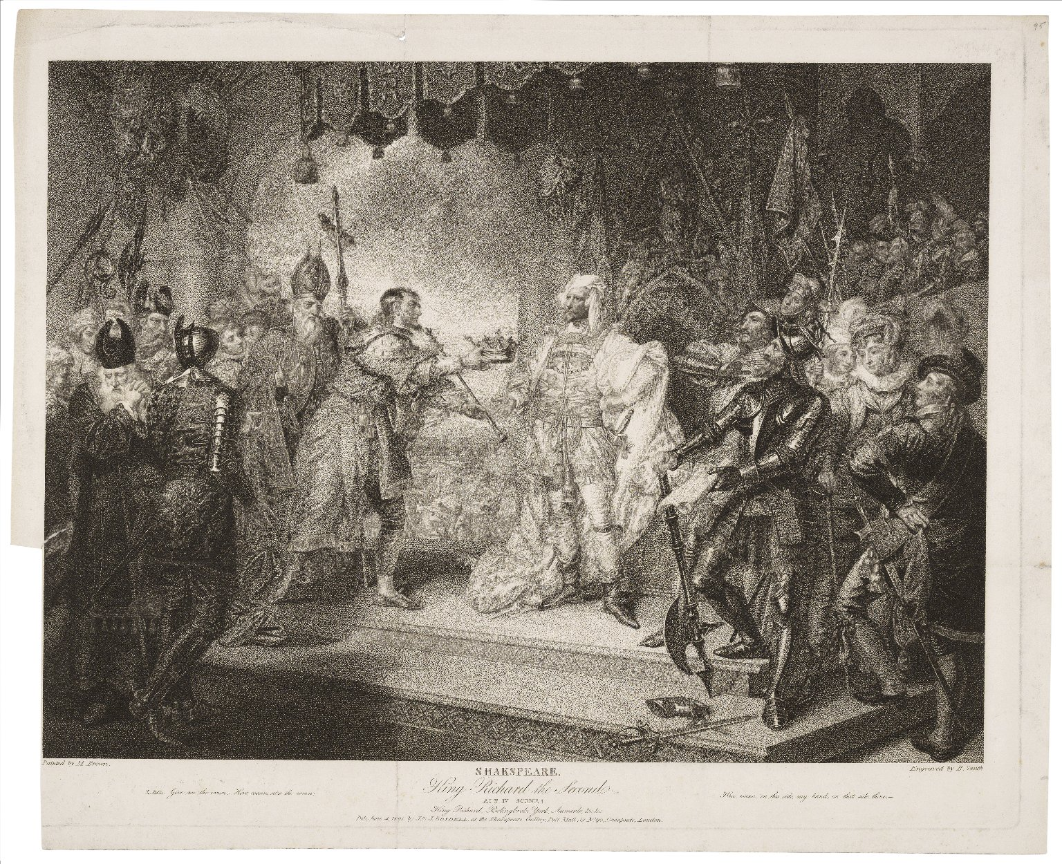 Richard II, Act 4, Scene 1
