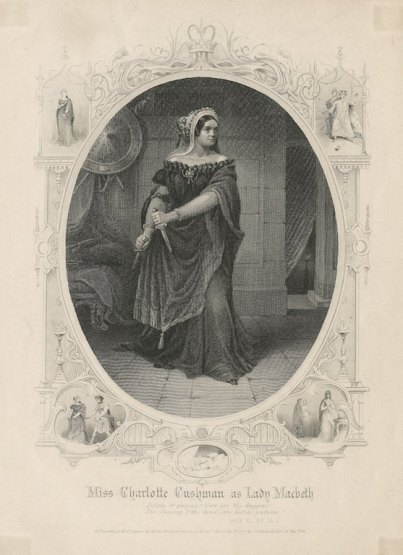 Cushman as Lady Macbeth