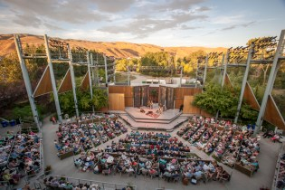 Idaho Shakespeare Festival Amphitheater. (c) Idaho Shakespeare Festival.