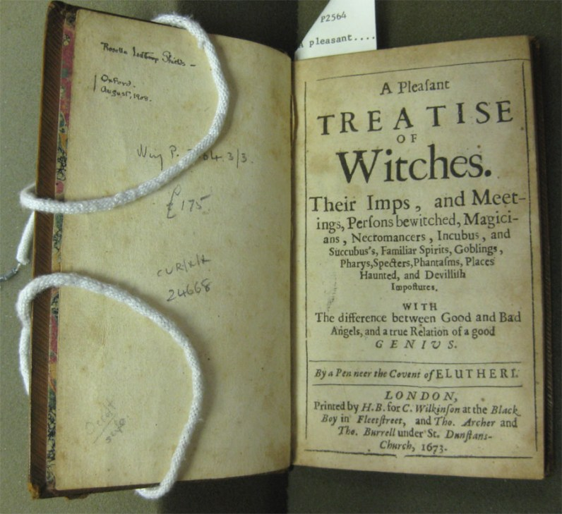 Pleasant Treatise Title Page