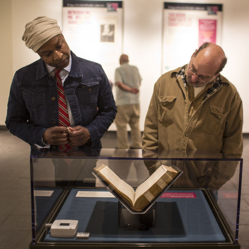 The First Folio Tour at Amherst College