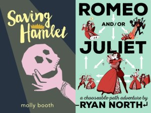 YA novels by Molly Booth and Ryan North