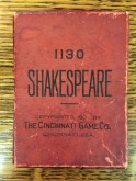 The Cincinnati Game Company's Shakespeare
