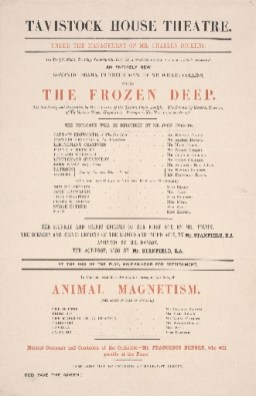 The Frozen Deep with Animal Magnetism