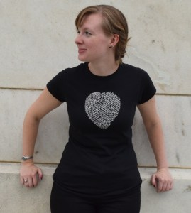 This Sonnet 18 t-shirt is one of our five Christmas gift ideas for Shakespeare fans.
