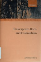 "Cover of Ania Loomba's ""Shakespeare, Race, and Colonialism"