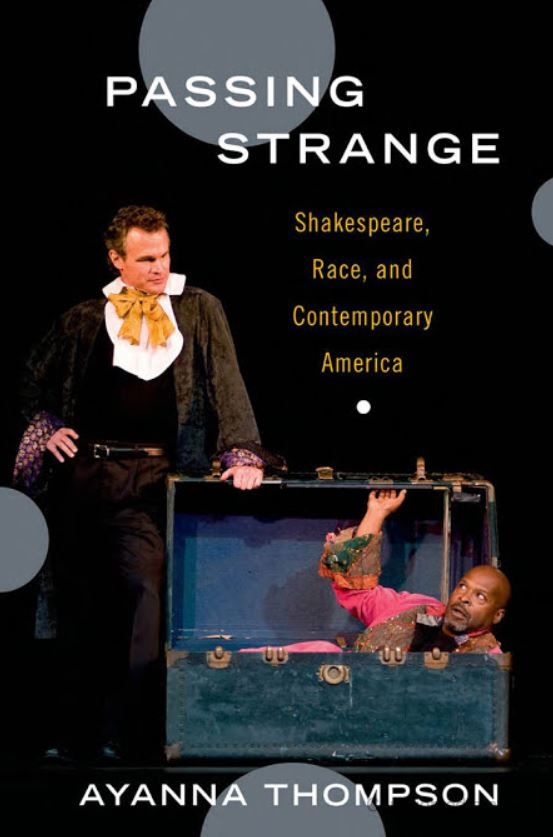 """Front cover of Ayanna Thompson's """"Passing Strange"""""""