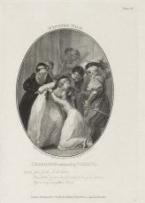 "Illustration of the statue scene in ""The Winters Tale"" by Charles Taylor"