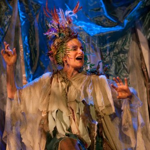 "PHOTO: Actress Melora Marshall as Titania in Shakespeare's ""A Midsummer Night's Dream"""