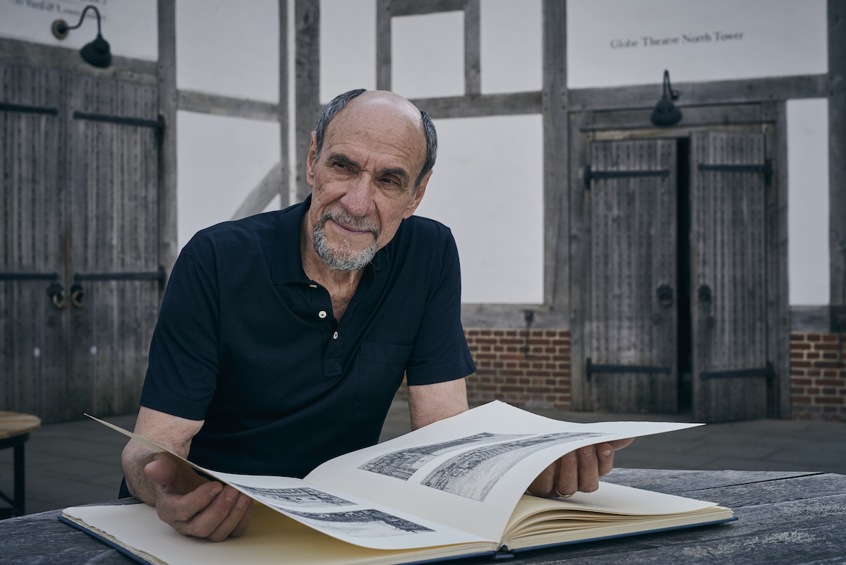 F. Murray Abraham in Shakespeare Uncovered. Photo: Rory Mulvey