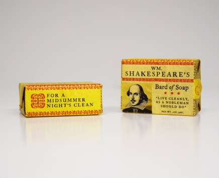 WM. Shakespeare's Bard of Soap
