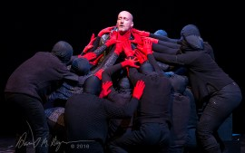 """""""Death of Kings: Seize the Crown"""" by UCSB Dept. of Theater & Dance and Southwest Shakespeare Company."""